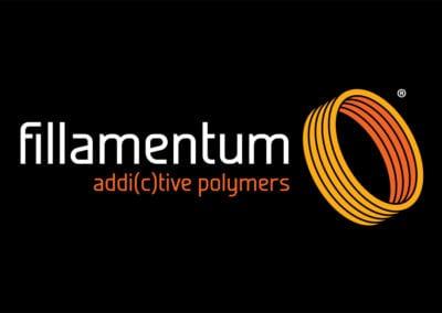 Fillamentum – logo a navazující materiály