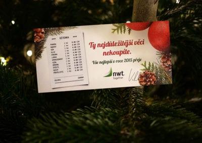 Vánoční přání NWT