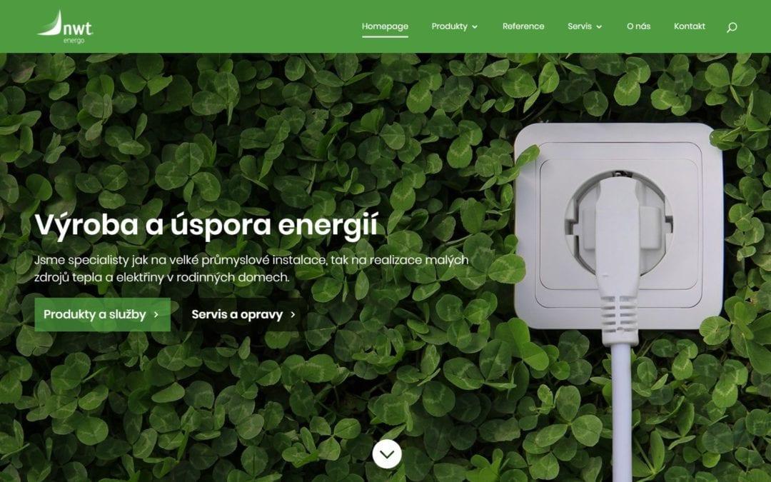 Divizní web Energo