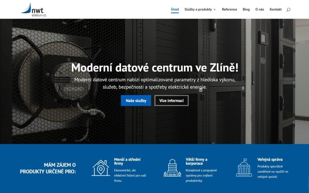 Divizní web ICT