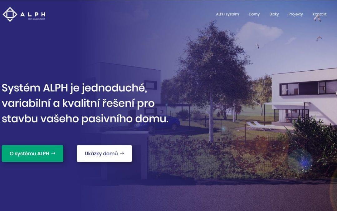 Webové stránky ALPH