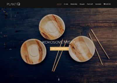 Web a e-shop PlantiQ