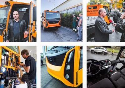 Instagram Enviel – komunální elektromobil