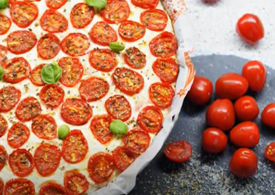 Rajčatový koláč – videorecept Farma Bezdínek