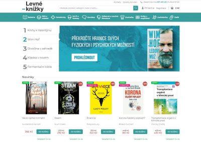 Redesign e-shopu Levné-knížky.cz