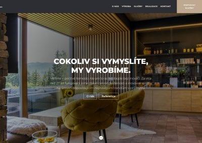 Web firmy PKN nábytek